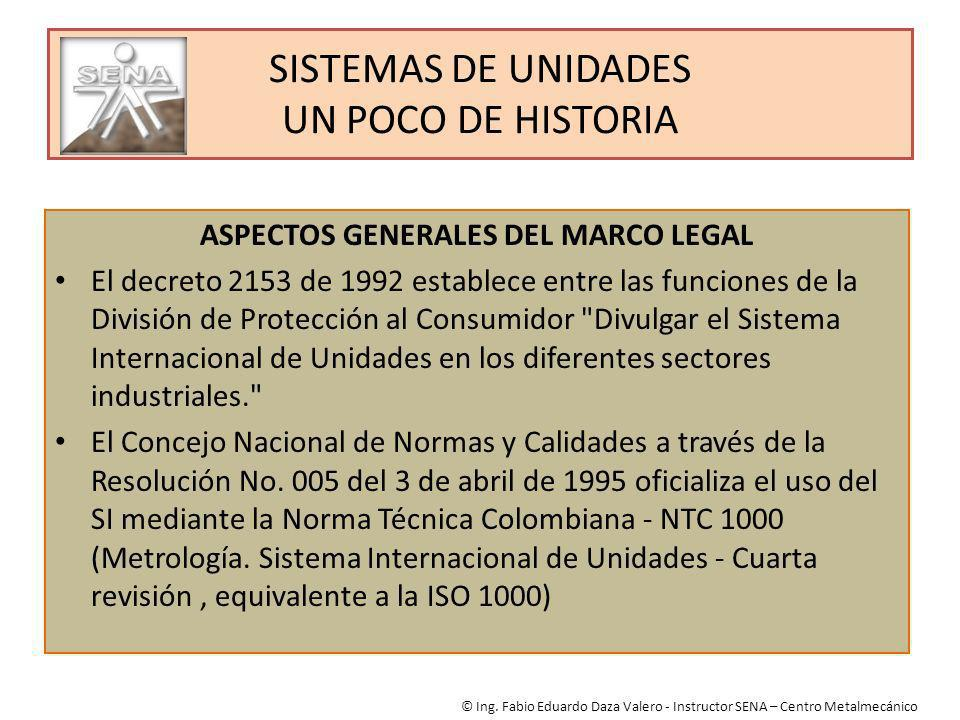 SISTEMAS DE UNIDADES UN POCO DE HISTORIA