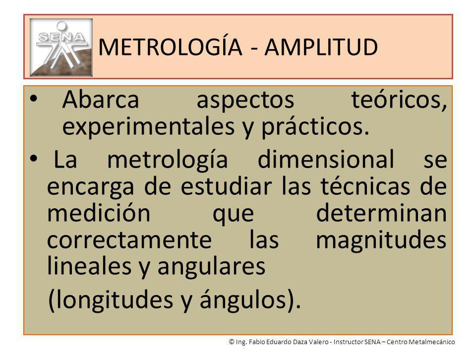 Abarca aspectos teóricos, experimentales y prácticos.