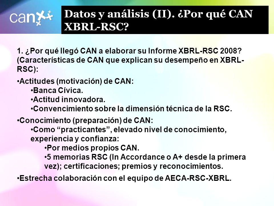 Datos y análisis (II). ¿Por qué CAN XBRL-RSC