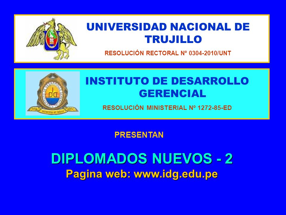 UNIVERSIDAD NACIONAL DE TRUJILLO