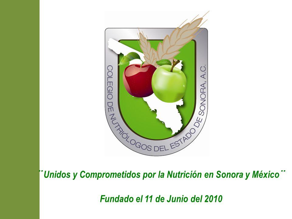 ¨Unidos y Comprometidos por la Nutrición en Sonora y México¨