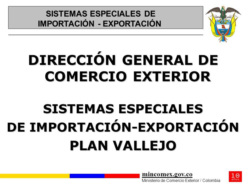 DIRECCIÓN GENERAL DE COMERCIO EXTERIOR