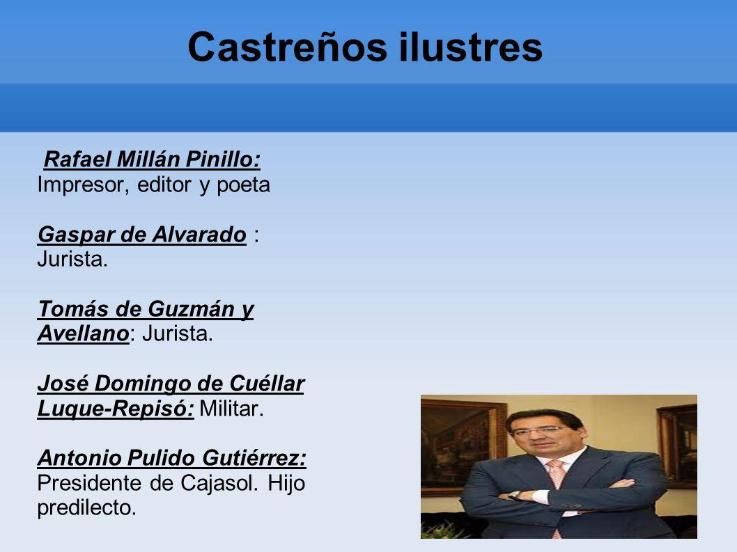 Castreños ilustres Rafael Millán Pinillo: Impresor, editor y poeta