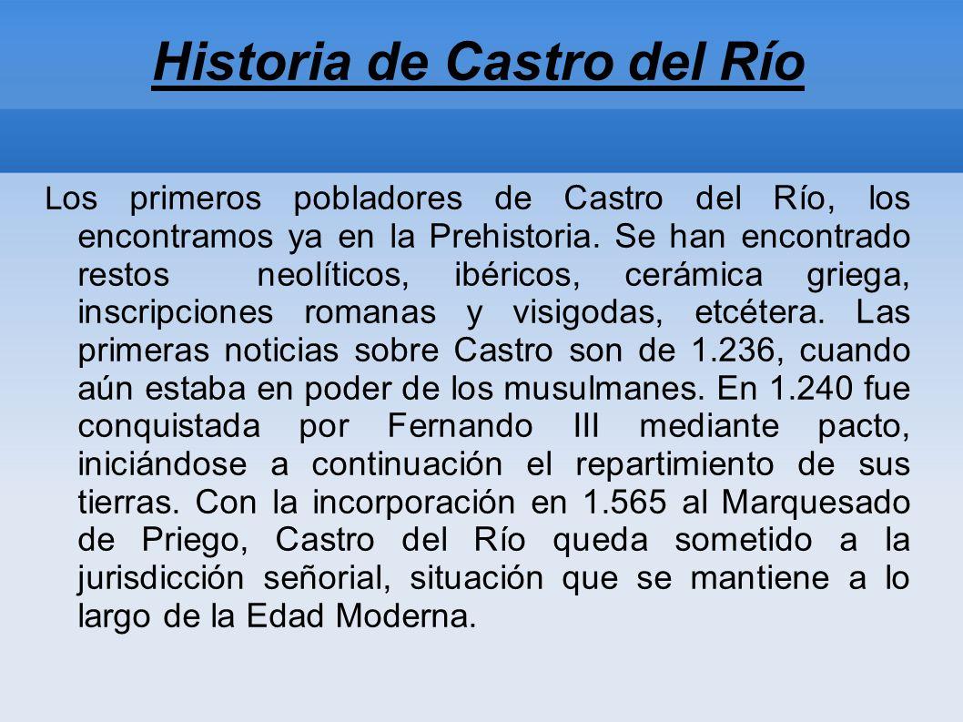 Historia de Castro del Río