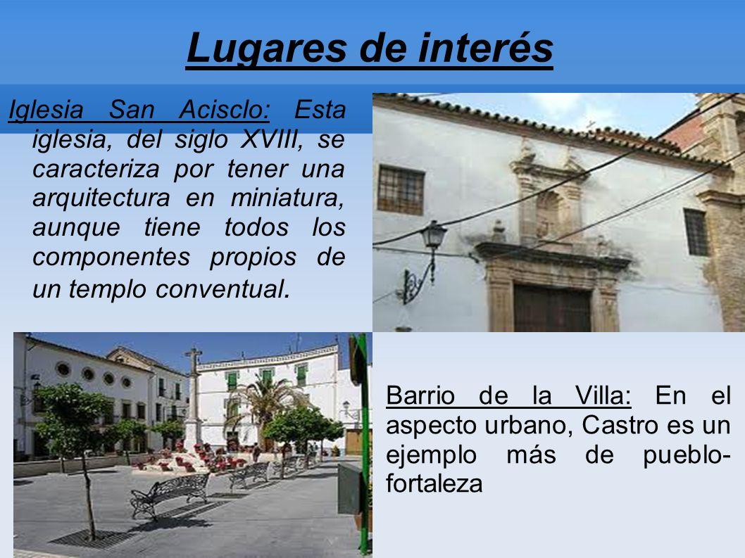 Lugares de interés