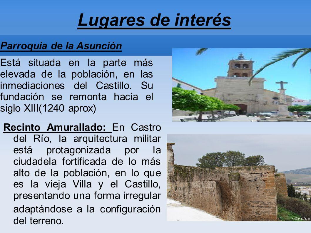 Lugares de interés Parroquia de la Asunción