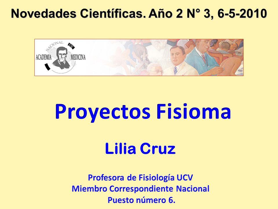 Proyectos Fisioma Lilia Cruz
