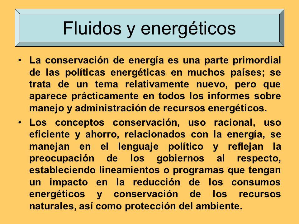 Fluidos y energéticos