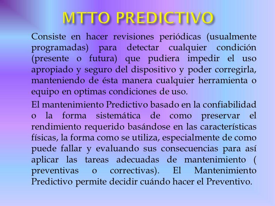 MTTO PREDICTIVO