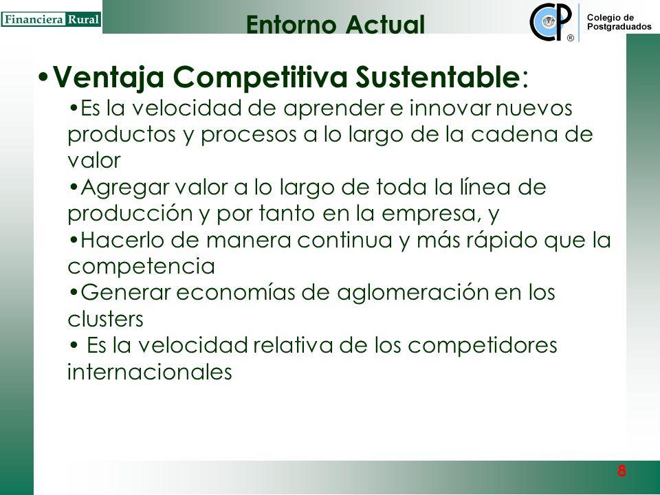 Ventaja Competitiva Sustentable:
