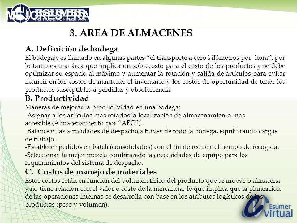 MEJORES PRACTICAS ALMACENES