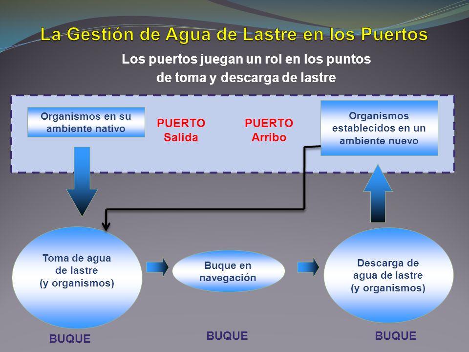 La Gestión de Agua de Lastre en los Puertos