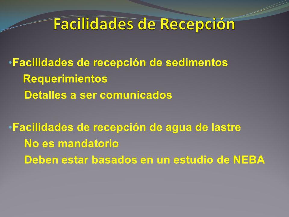 Facilidades de Recepción
