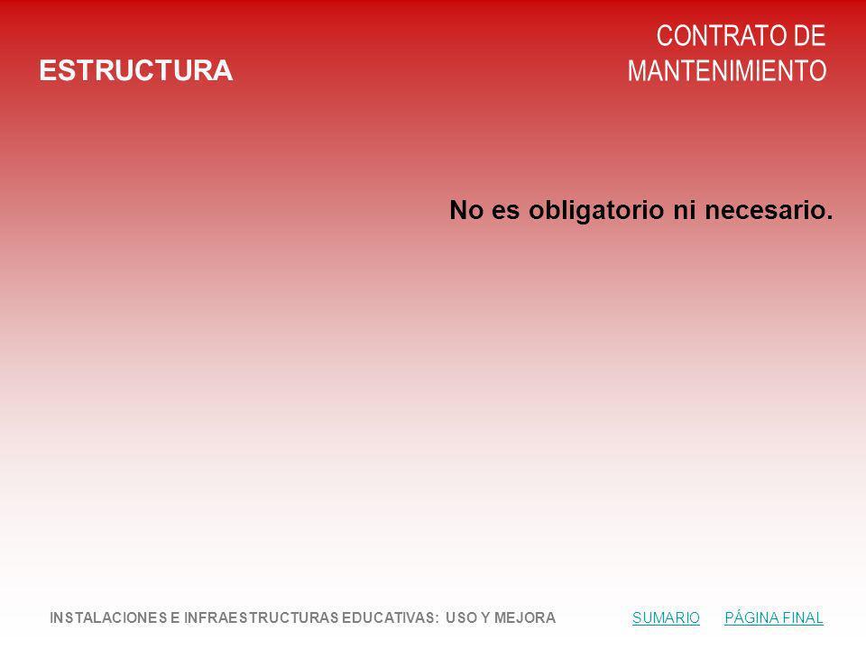 CONTRATO DE MANTENIMIENTO ESTRUCTURA