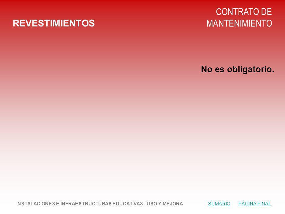 CONTRATO DE MANTENIMIENTO REVESTIMIENTOS