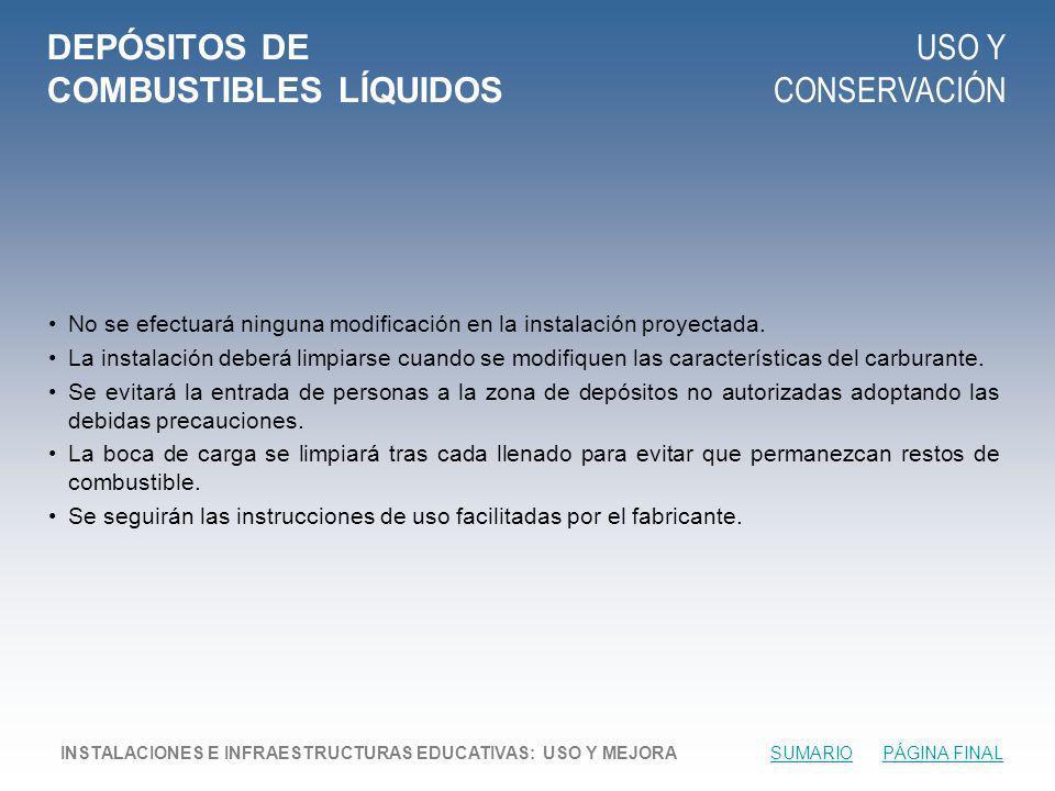 DEPÓSITOS DE COMBUSTIBLES LÍQUIDOS
