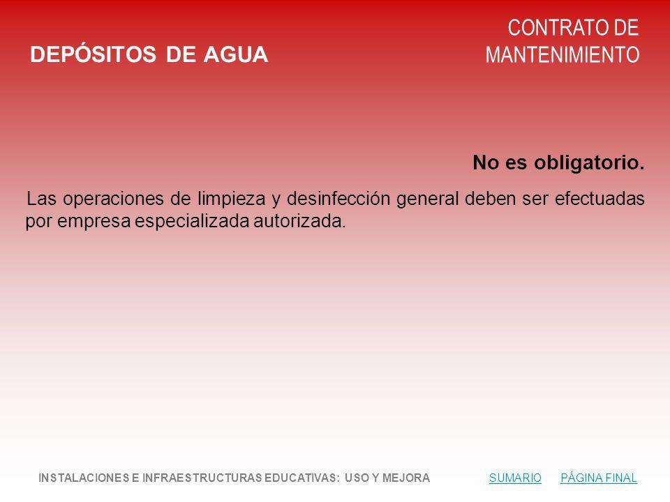 CONTRATO DE MANTENIMIENTO DEPÓSITOS DE AGUA