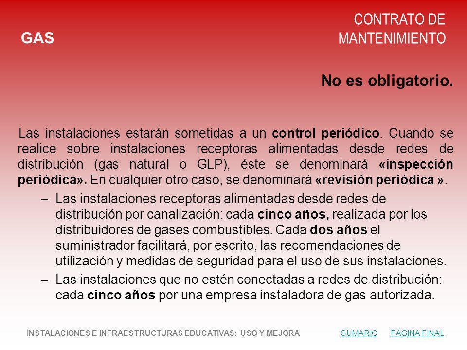 CONTRATO DE MANTENIMIENTO GAS