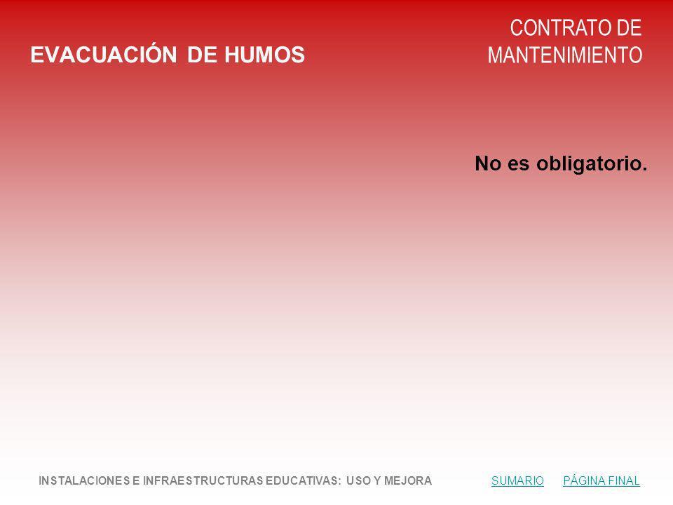CONTRATO DE MANTENIMIENTO EVACUACIÓN DE HUMOS