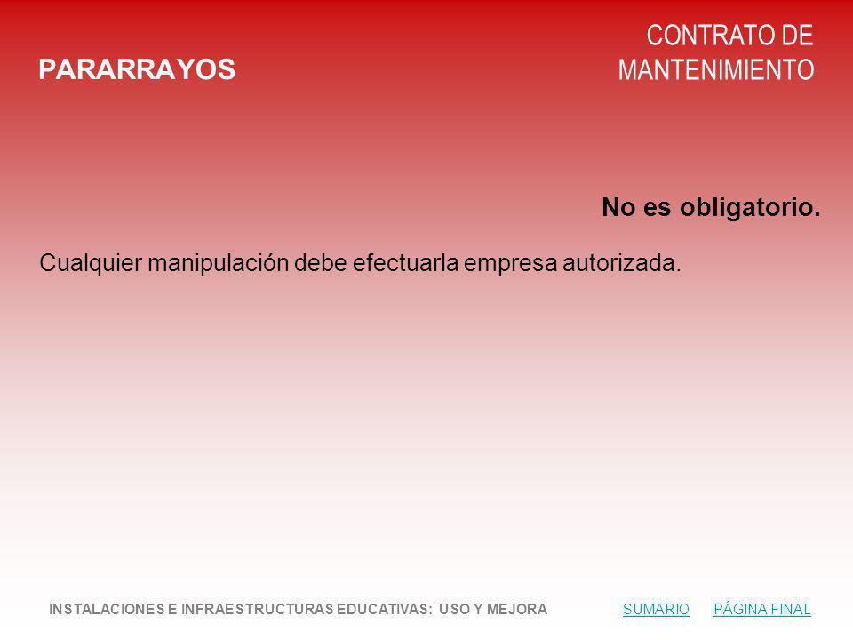 CONTRATO DE MANTENIMIENTO PARARRAYOS