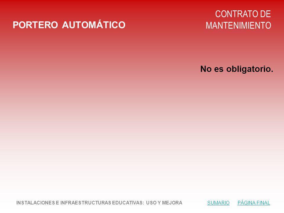 CONTRATO DE MANTENIMIENTO PORTERO AUTOMÁTICO