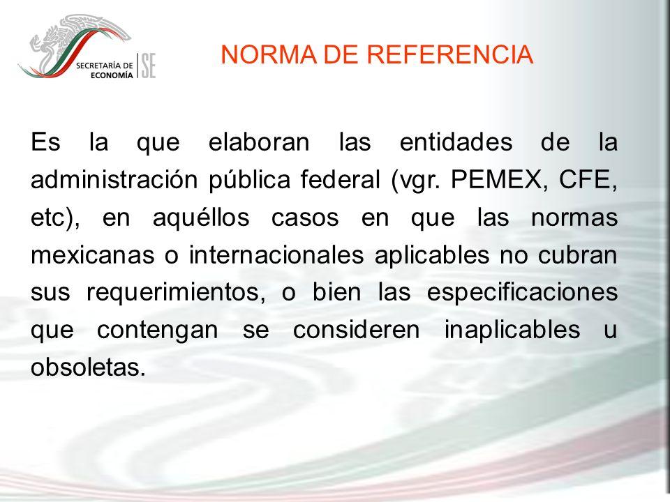 NORMA DE REFERENCIA