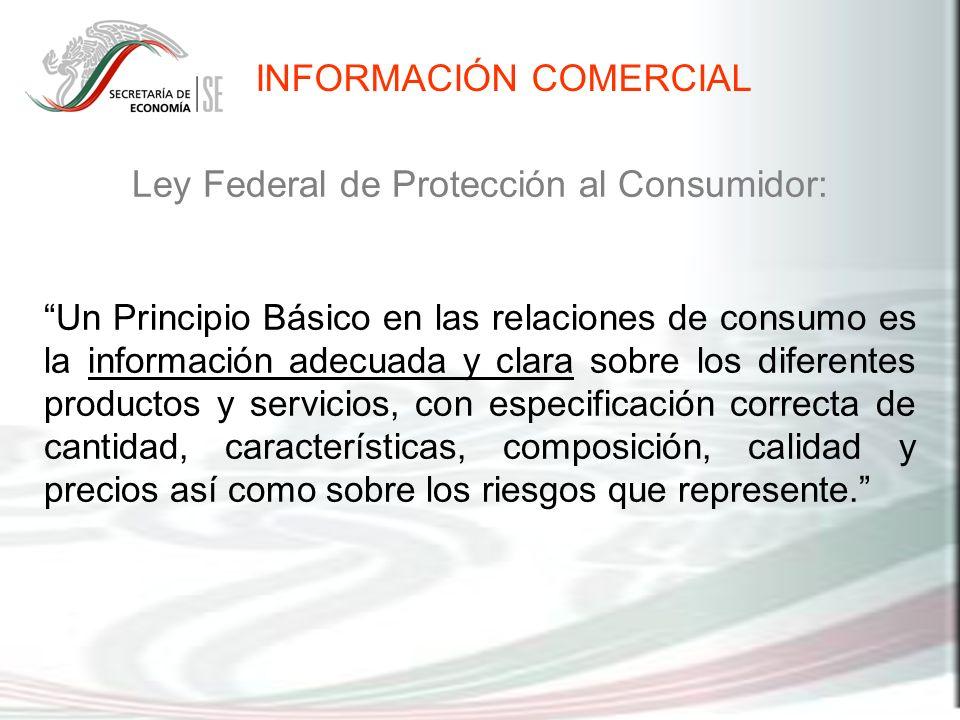 Ley Federal de Protección al Consumidor:
