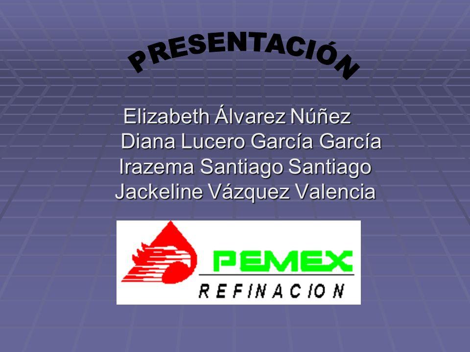 PRESENTACIÓN Elizabeth Álvarez Núñez Diana Lucero García García