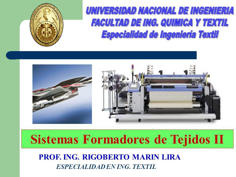 Sistemas Formadores de Tejidos II