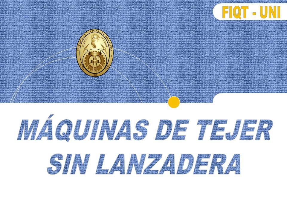 MÁQUINAS DE TEJER SIN LANZADERA
