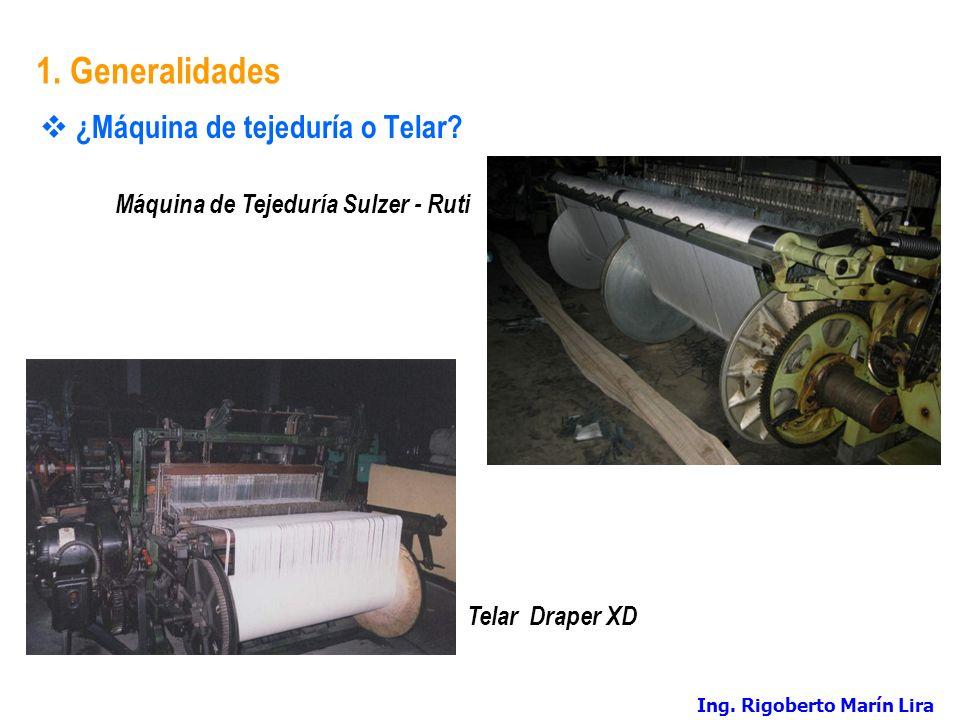 Máquina de Tejeduría Sulzer - Ruti
