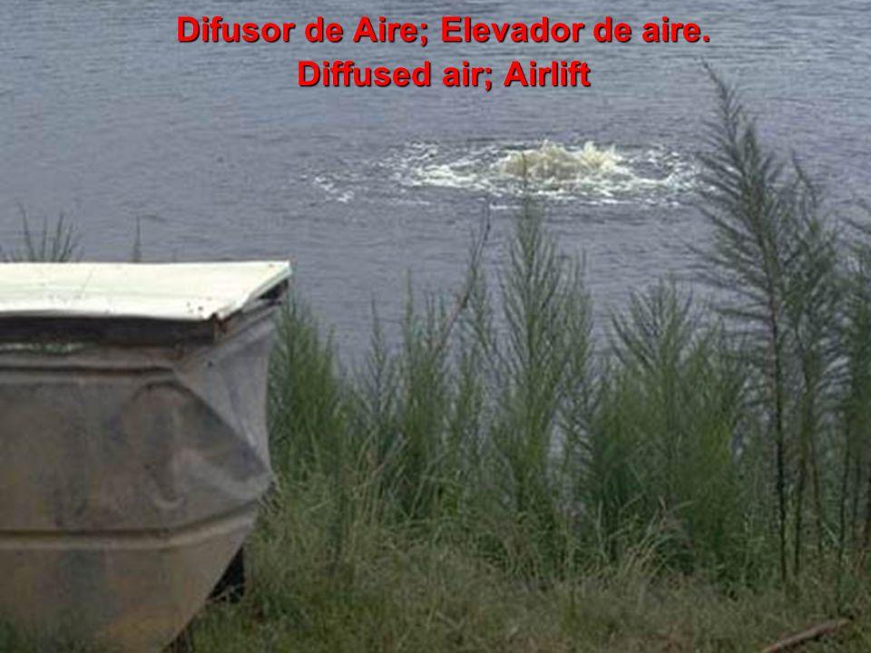 Difusor de Aire; Elevador de aire.