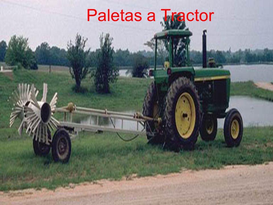 Paletas a Tractor