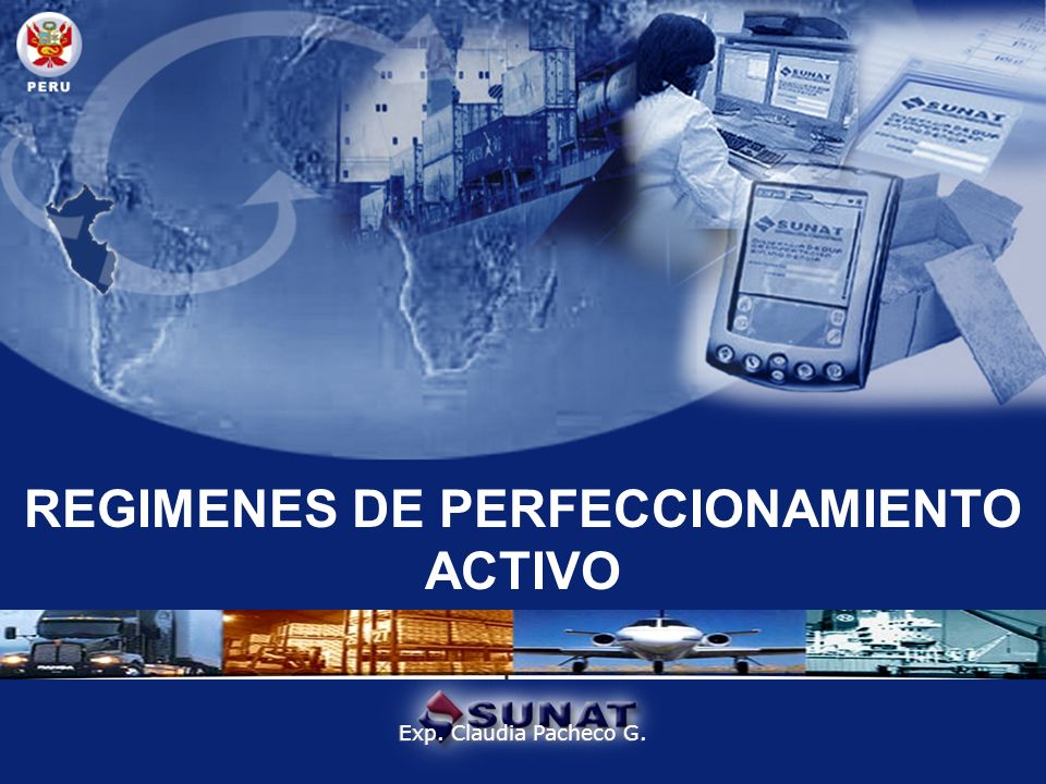 REGIMENES DE PERFECCIONAMIENTO ACTIVO