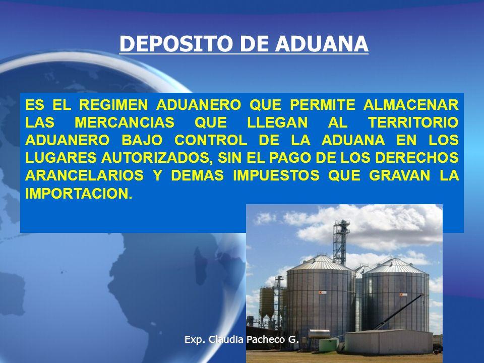 DEPOSITO DE ADUANA