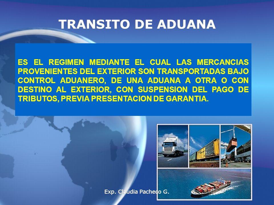 TRANSITO DE ADUANA