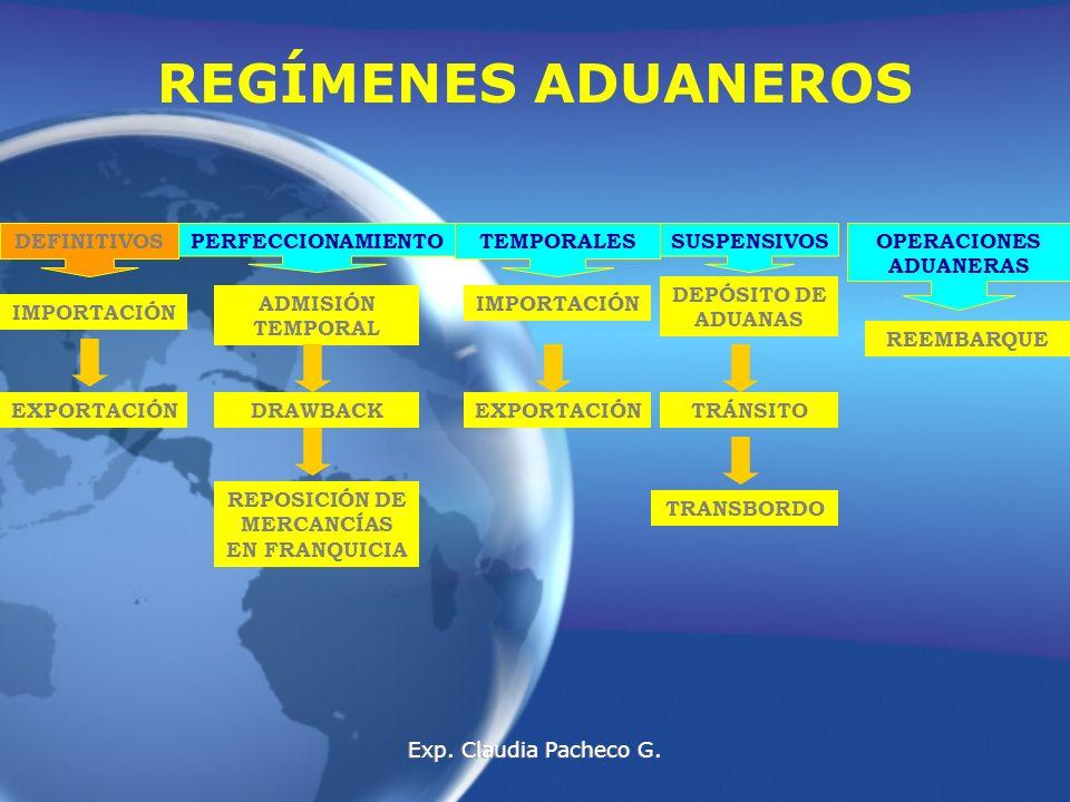 OPERACIONES ADUANERAS REPOSICIÓN DE MERCANCÍAS EN FRANQUICIA