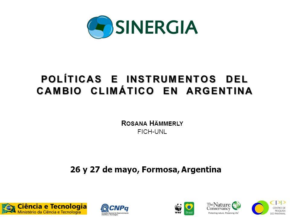 26 y 27 de mayo, Formosa, Argentina