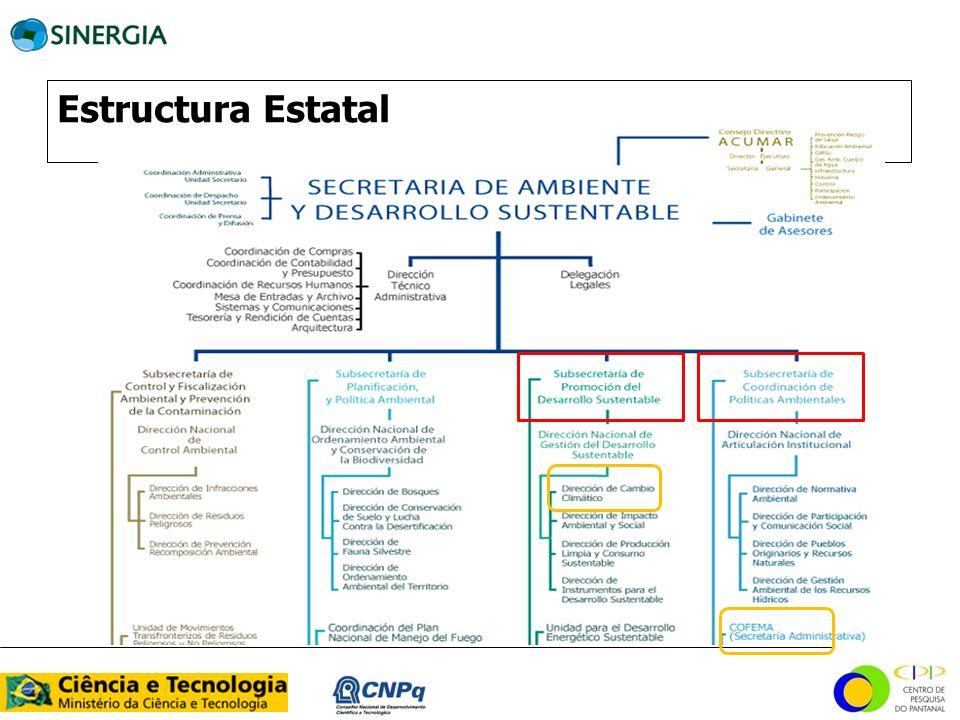 Estructura Estatal