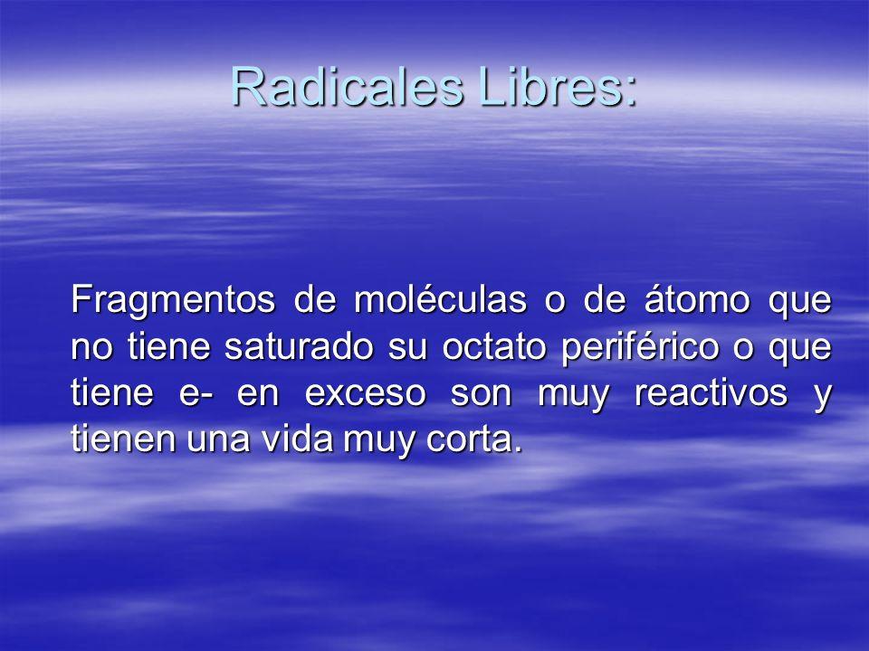 Radicales Libres: