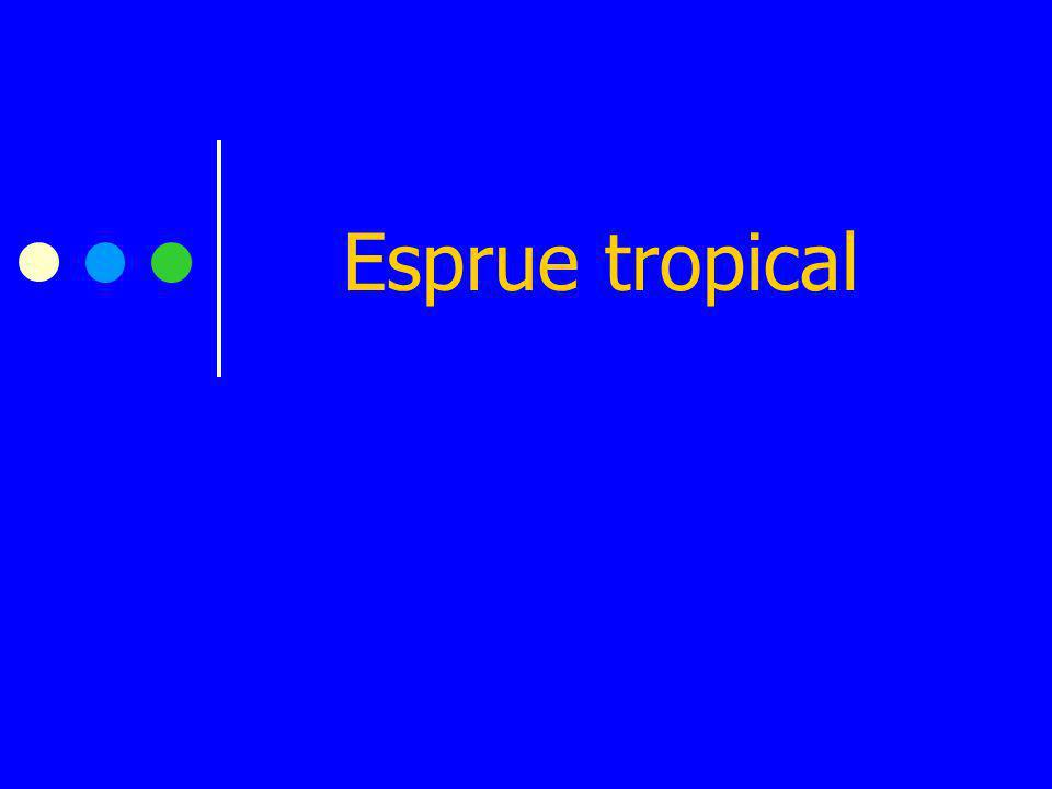 Esprue tropical