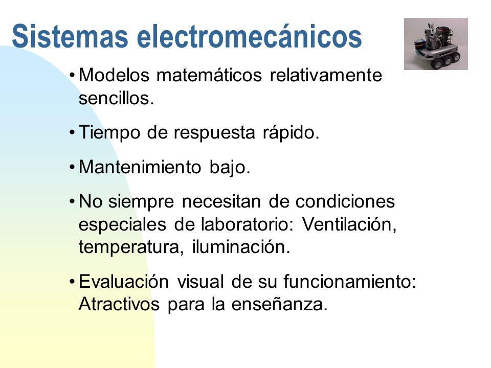 Sistemas electromecánicos