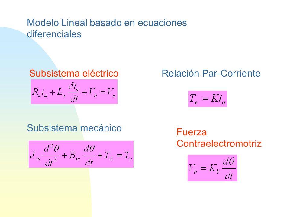 Modelo Lineal basado en ecuaciones diferenciales