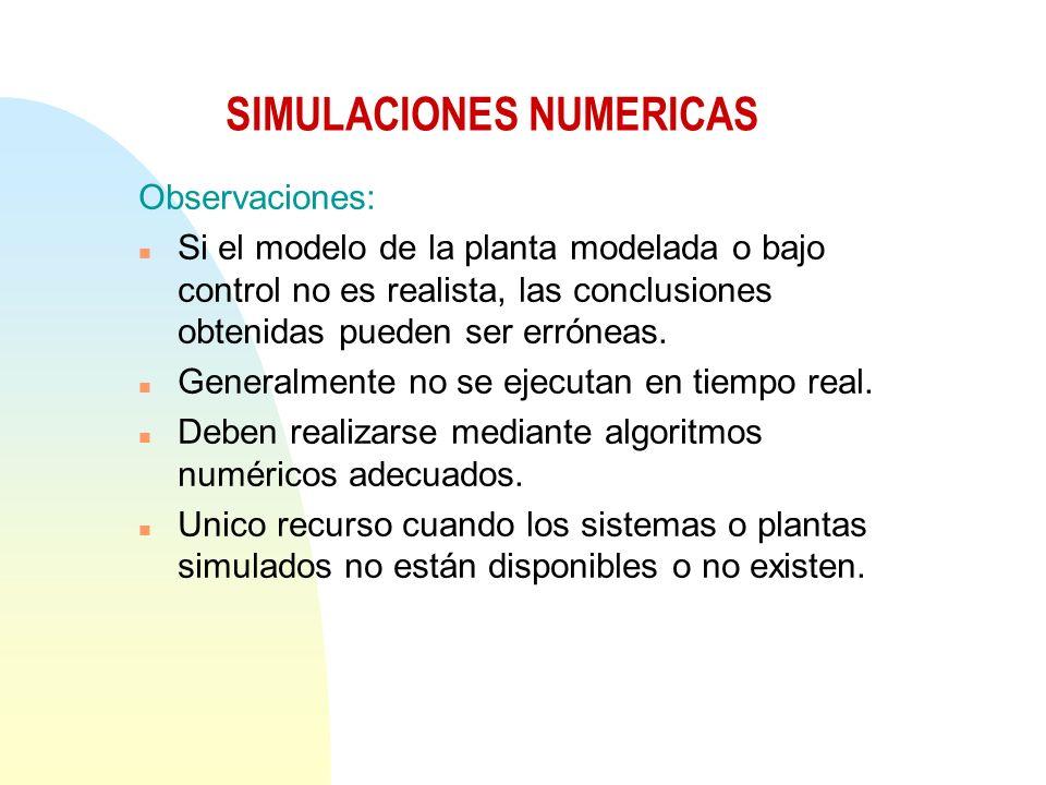 SIMULACIONES NUMERICAS