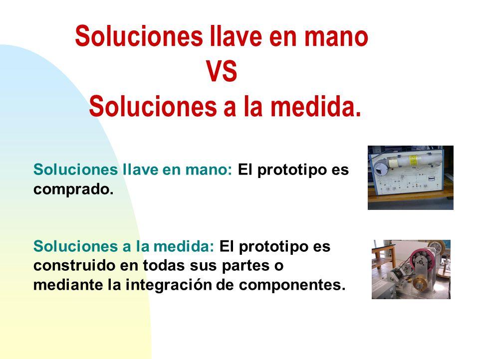 Soluciones llave en mano VS Soluciones a la medida.