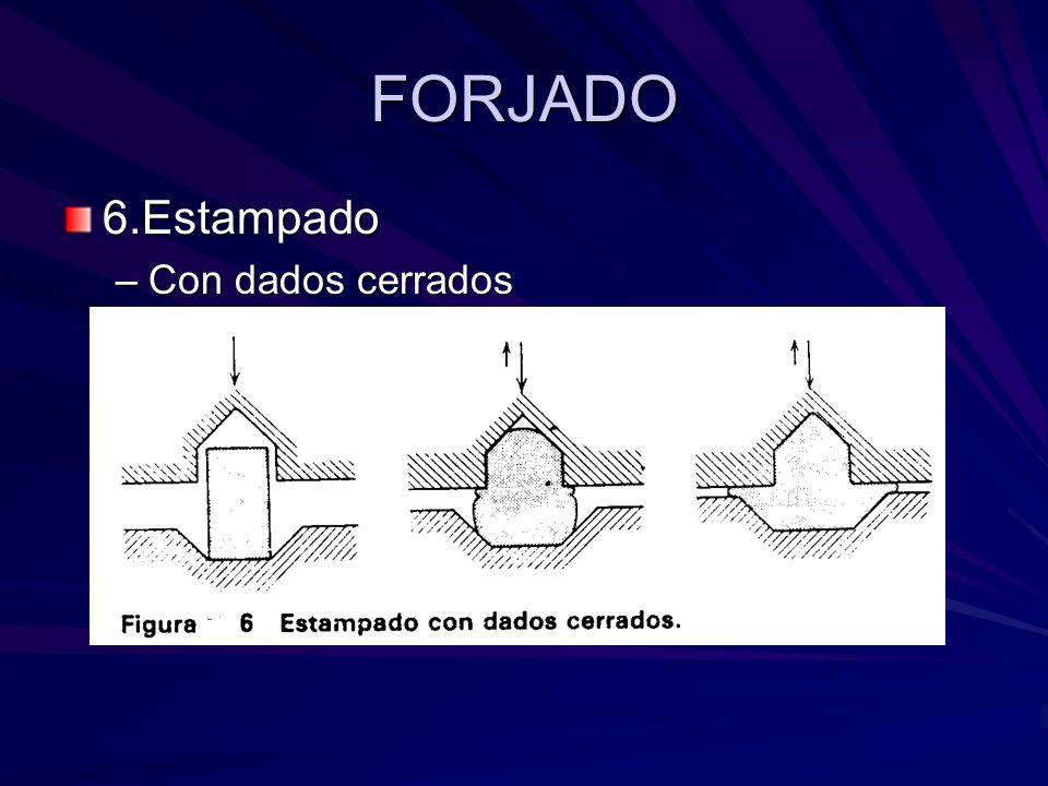 FORJADO 6.Estampado Con dados cerrados