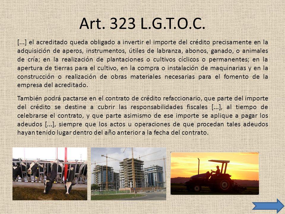 Art. 323 L.G.T.O.C.
