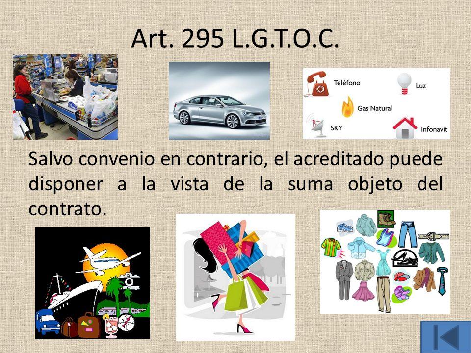Art. 295 L.G.T.O.C.