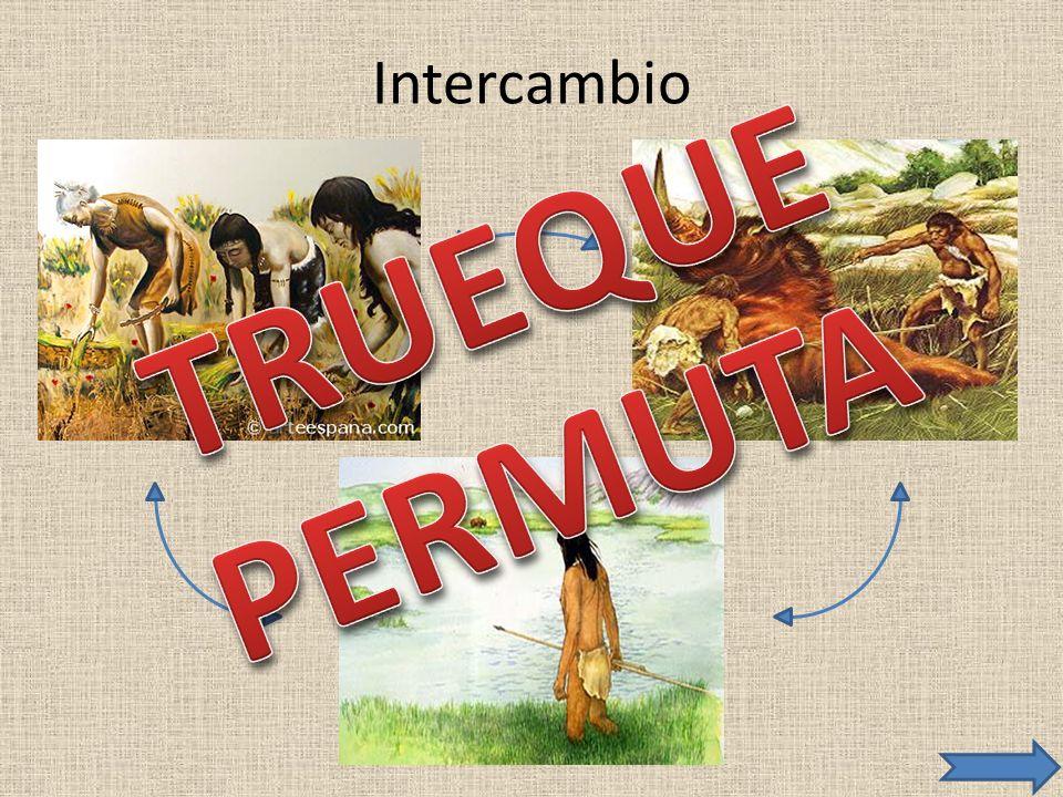 Intercambio TRUEQUE PERMUTA