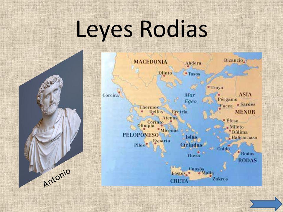 Leyes Rodias Antonio
